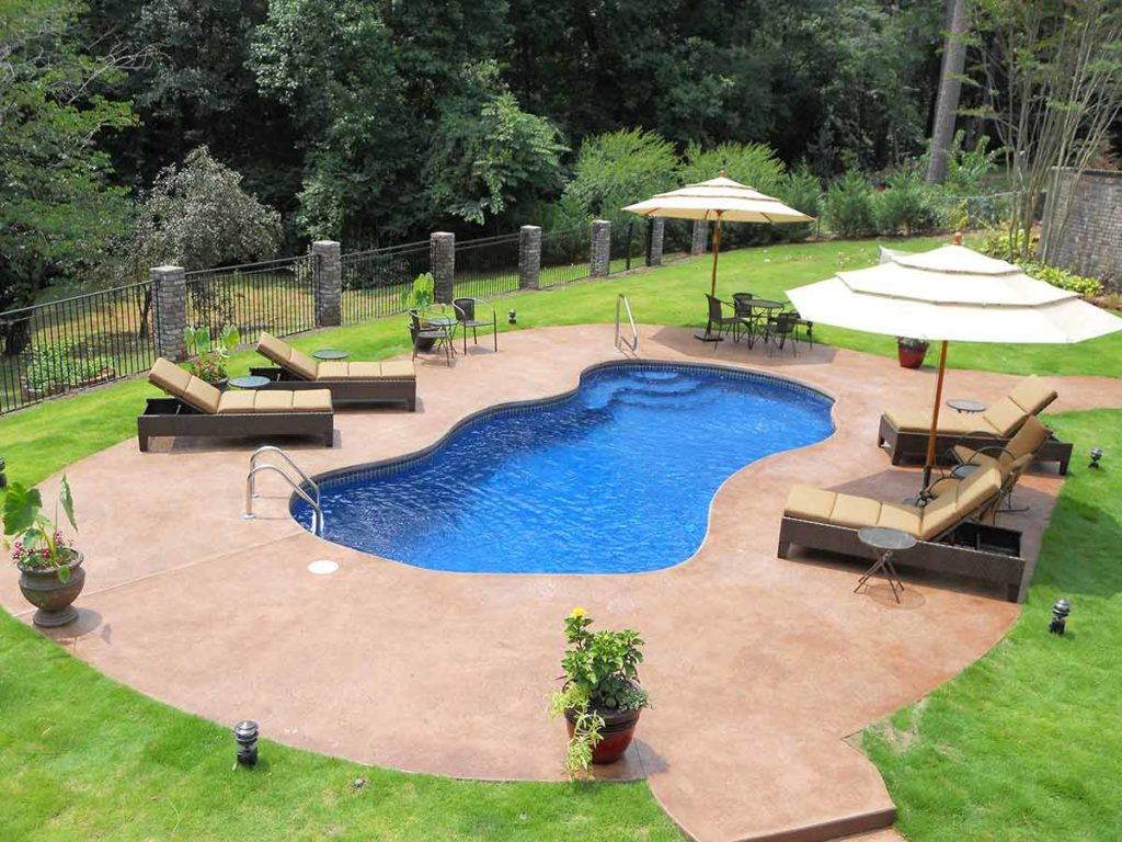 Bay Isle Fiberglass Pool
