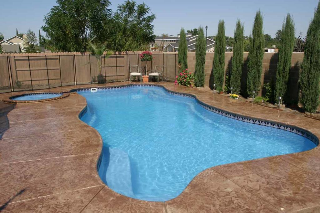 Cambridge Fiberglass Pool