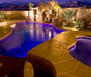 Cancun Fiberglass Pool