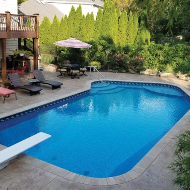 L Shape Pools Latham Pools