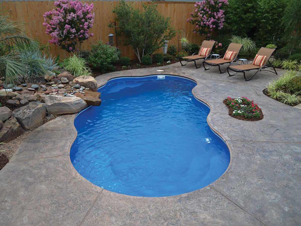 Aruba Fiberglass Pool