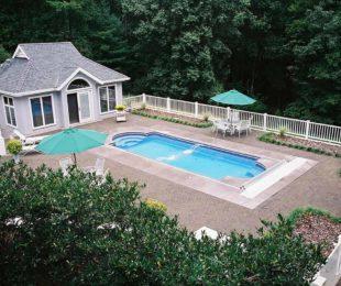 Chesapeake Fiberglass Pool