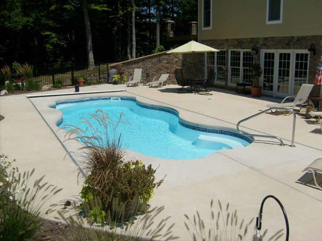 Coronado Fiberglass Pool