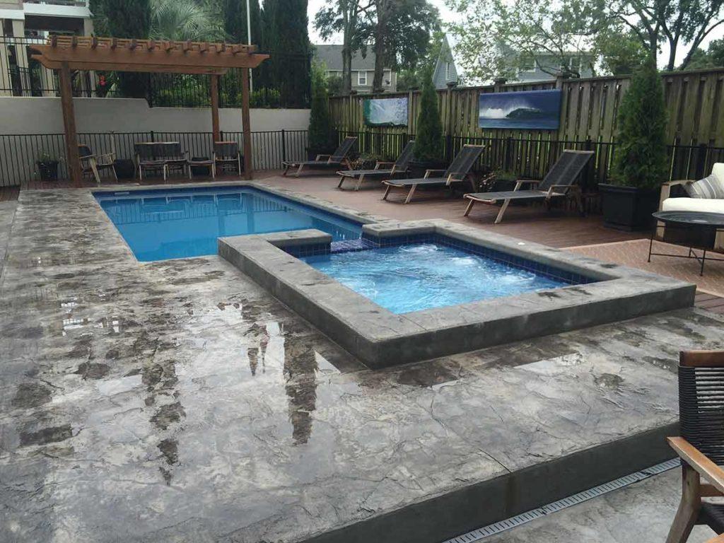Delray Fiberglass Pool