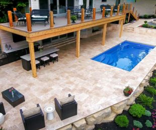 Fiberglass Pools Caribbean Blue