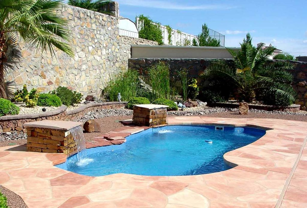Freeport Fiberglass Pool
