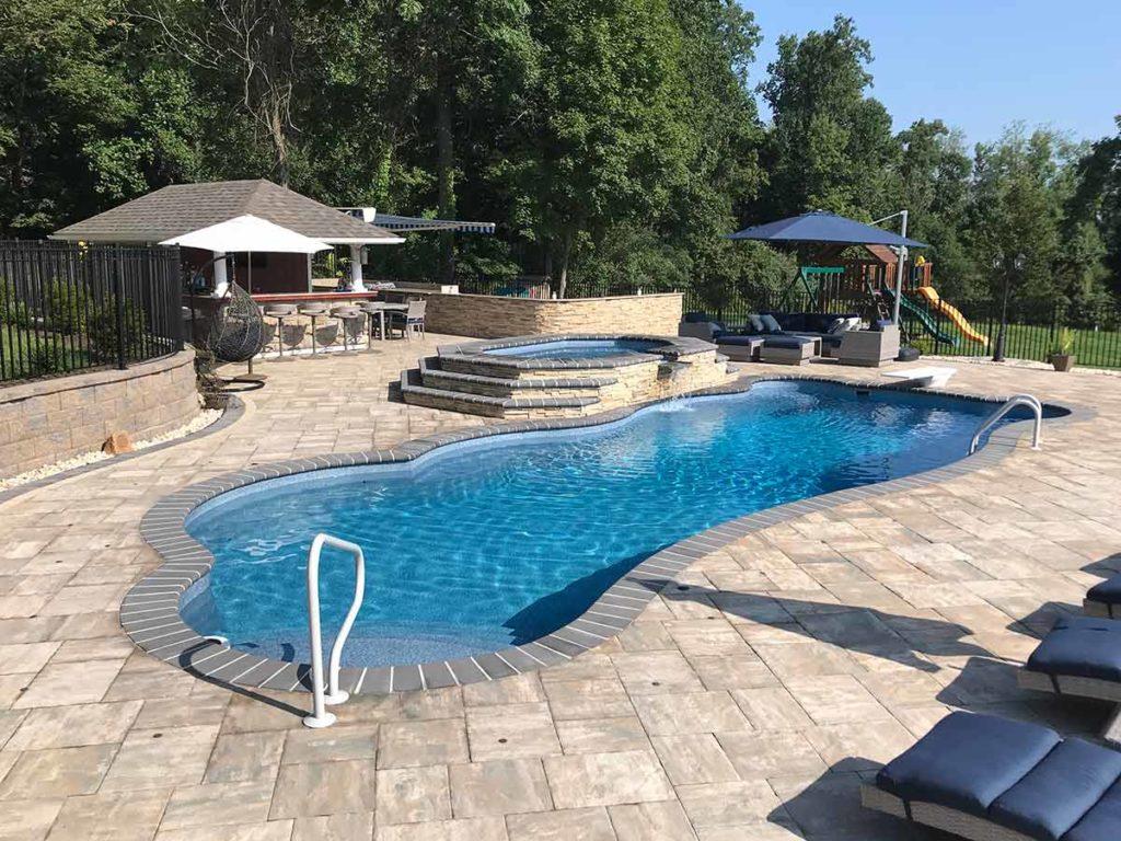 Genesis Fiberglass Pool