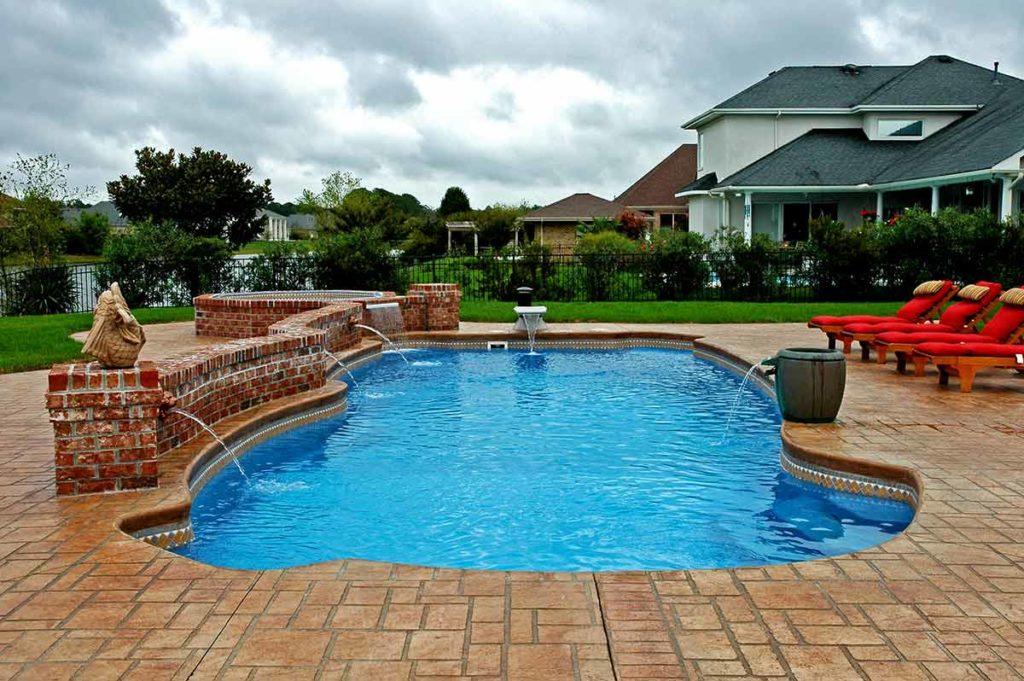 Gulf Coast Fiberglass Pool