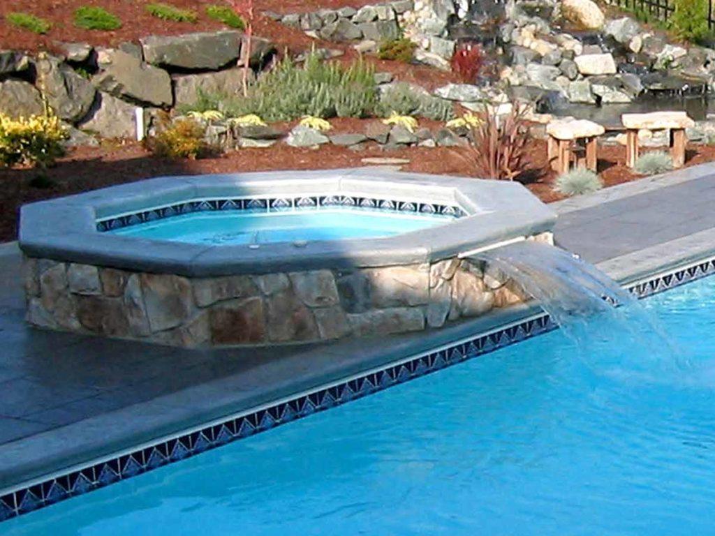 Lake Shore Fiberglass Pool