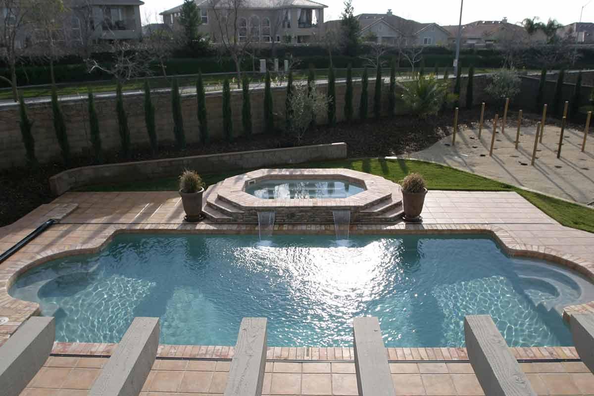 Montego Fiberglass Pool