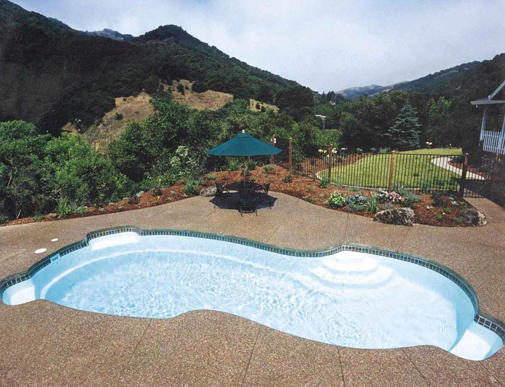 Rockport Fiberglass Pool