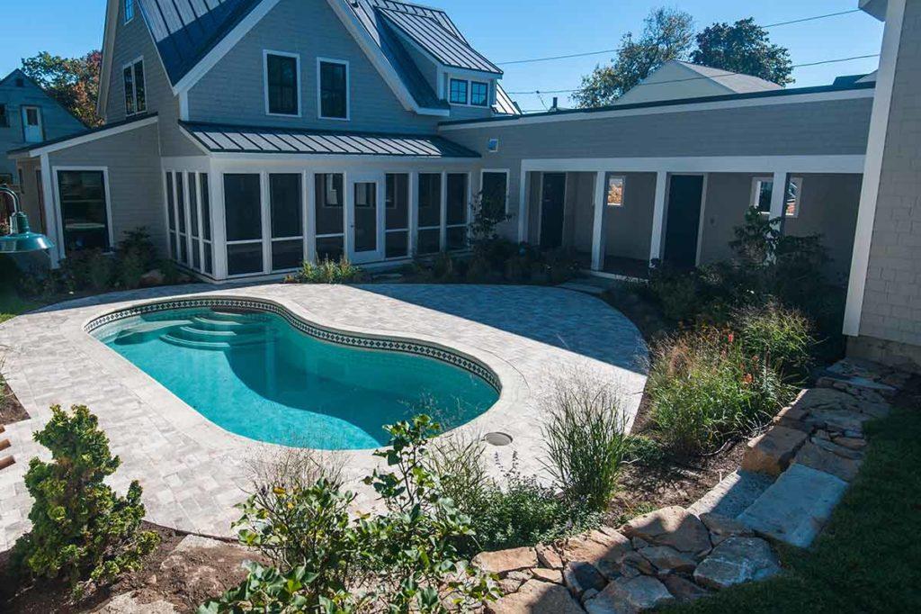 St Lucia Fiberglass Pool