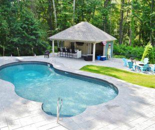 Vinyl Pool Mountain Pond