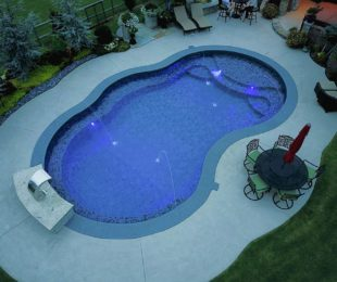 Vinyl Pool Custom Shape
