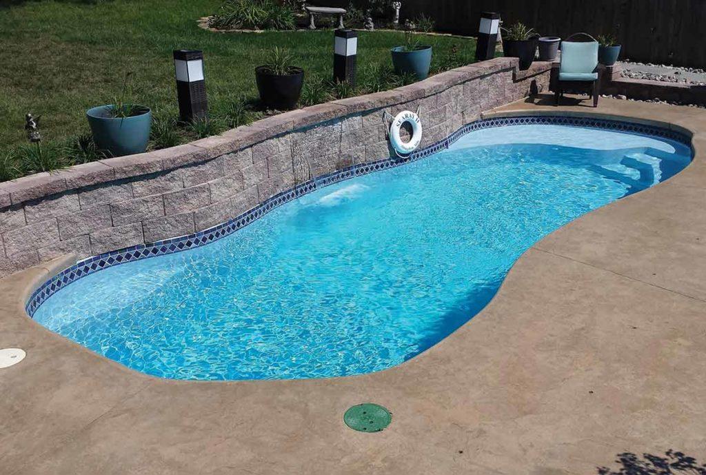 Vista Isle Fiberglass Pool