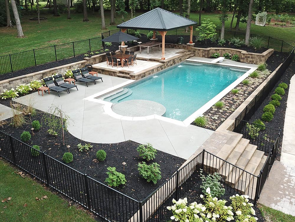 Swimming Pool Coping Decking Latham Pools
