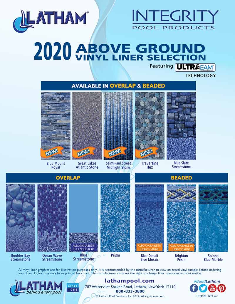 Integrity Above Ground Liners Sell Sheet 2020
