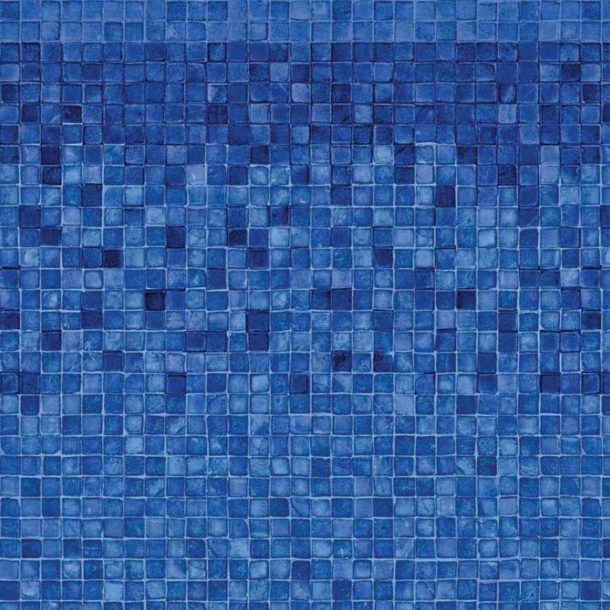 Blue Denali Blue Mosaic Above Ground Vinyl Liner
