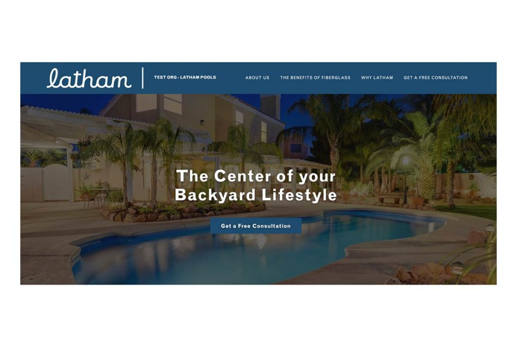 Latham Branded Website