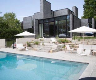 Latham Fiberglass Monaco | Granite inground pool